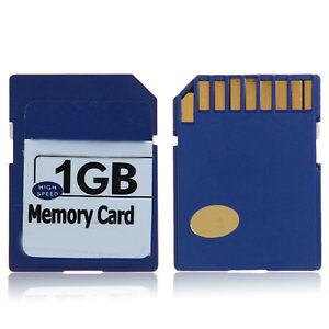 High Quality SD Memory Card 1GB Blue