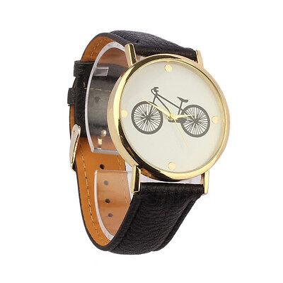 Fashion Womens Watches Unisex Leather Band Analog Quartz Casual Wristwatch Часы