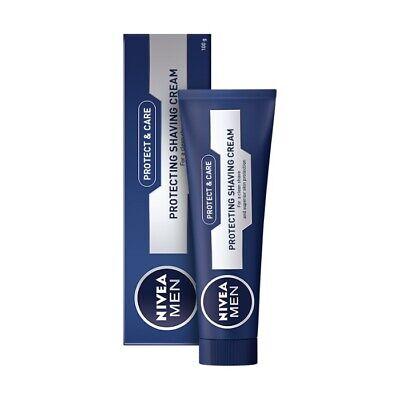 NIVEA Men Protect & Care - Protecting Shaving Cream 3.4 Oz -