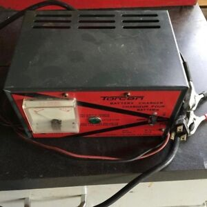 Vintage, Heavy-Duty 10 Amp Battery Charger