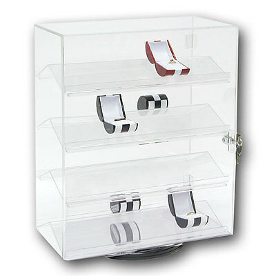 Acrylic Jewelry Display Stand Phone Display Stand Rotating Countertop Cabinet