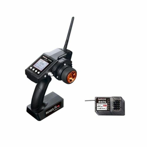 Radiolink RC4GS 2.4G 4 Channels Remote Controller Transmitter with R6FG Receiver