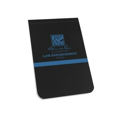 Rite In The Rain 1023 All-weather Law Enforcement Notebook 3 14 X 5