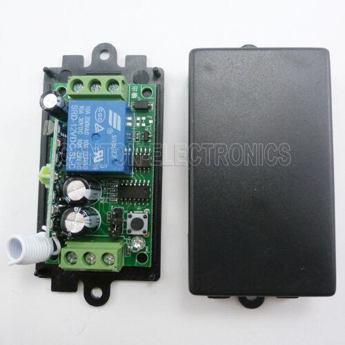 DC12V 433MHz 1 Channel RF Wireless Controller Receiver  light bulb fan