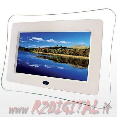 FRAME DIGITAL 7 ZOLL LCD FOTO STICK RAHMEN HD LED USB + SD-KARTE MP3 VIDEO