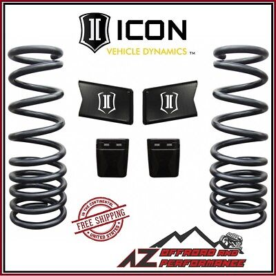 """ICON 2003-2013 Dodge Ram 2500 3500 4WD 2.5"""" Dual Rate Coil-Spring Kit"""