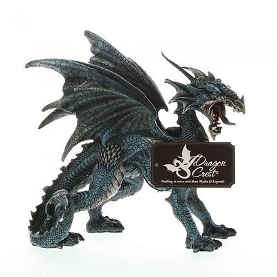 Winged Dragon Statue Figurine Medieval Game of Thrones Room Decor Gothic Home