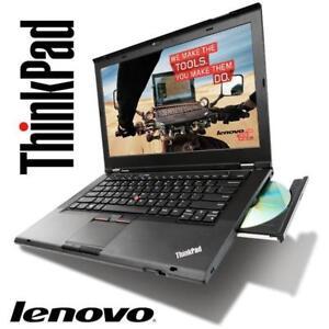 Méga Soldes : Lenovo Thinkpad T430 Core i5 (3E génération) - MEM 8GB - 250GB - WIFI – HDMI - Win 7/10