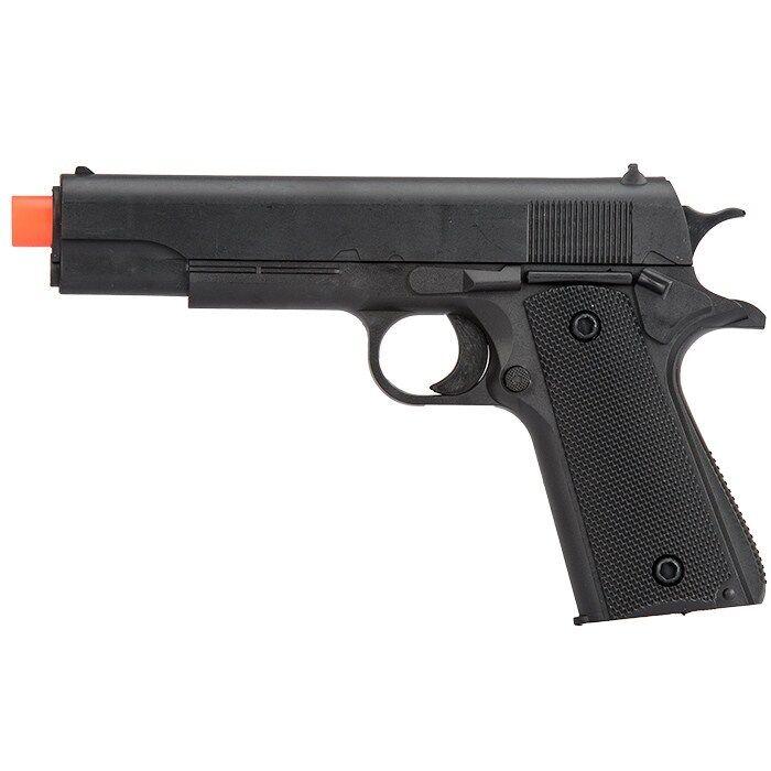 UKARMS M1911 SPRING AIRSOFT HAND GUN PISTOL 6mm BBs BB Black