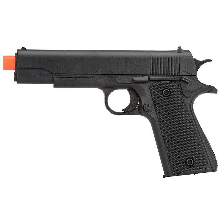 3 x UKARMS M1911 SPRING AIRSOFT HAND GUN PISTOL w/ 1000 6mm