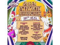 2 x VIP tickets Elrowtown London Sunday £55 each