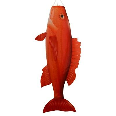 """Red Snapper 48"""" Fish Windsock"""