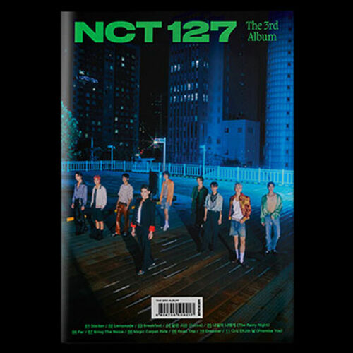 NCT 127 [STICKER] 3rd Album SEOUL CITY CD+POSTER+Photo Book+2 Card+Sticker+GIFT