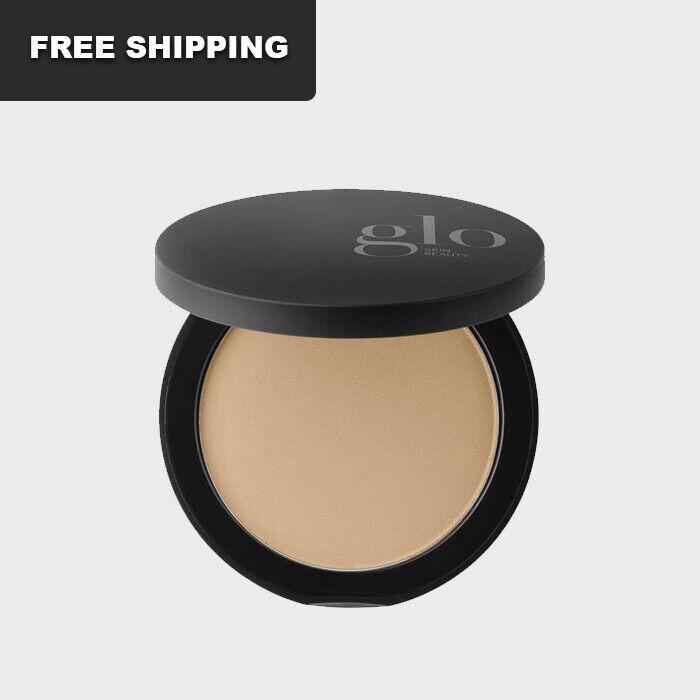 Glo Skin Beauty Minerals Pressed Base Honey Medium 0.31 oz / 9g - NEW FREESHIP