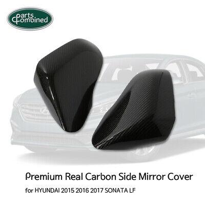 Real Carbon Side Mirror Cover  for HYUNDAI 2015 2016 2017 SONATA (LF)
