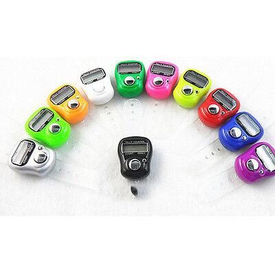 100pcs Mini LCD Electronic Digital Golf Finger Hand Ring Tally Counter