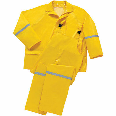 Westchester Protective Gear 3 Piece Adult Polyester Rain Suit Overalls Jacket