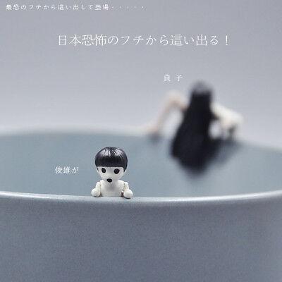 Mini figure for Halloween gift from japan The Ring Sadako The Grudge horror - Horror Films For Halloween