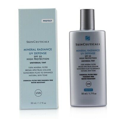 NEW Skin Ceuticals Protect Mineral Radiance UV Defense SPF50 50ml Womens