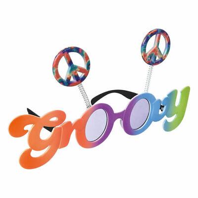 it Peace Zeichen in bunten Farben, ideal für Hippekostüme (60er Peace-zeichen)