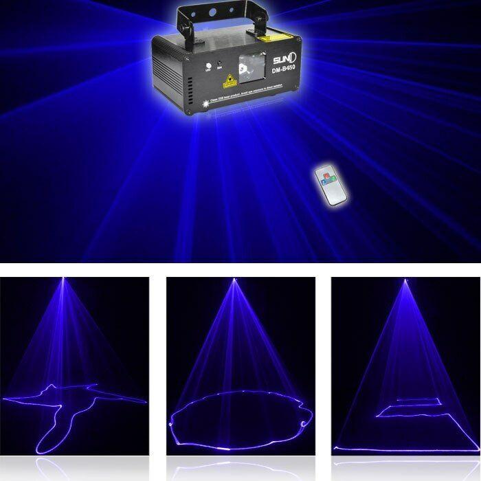 SUNY Stage Laser Light DMX Series-DM-B450 Single Blue Laser