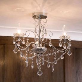 Vara 3 light bathroom chandelier RRP £80