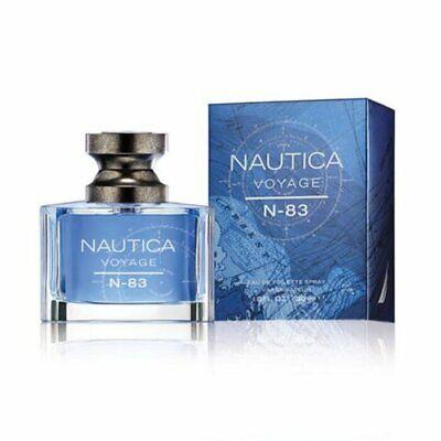 New Men's Nautica Voyage N-83 EDT Spray 1.0 oz (Retail Box)