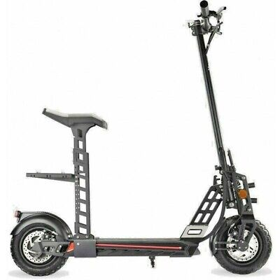 Electric Folding Scooter With Seat & Key - Super High 55km Range - 40 Km/h Speed