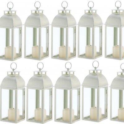 Lot 15 Ivory Lantern 12.5