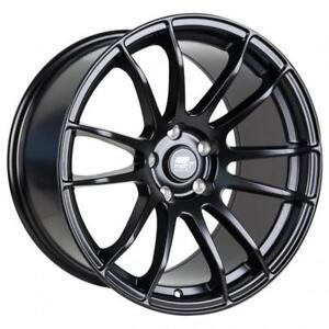 MST Wheels MT33 18x9.5 38mm 5x114. 3 73.1 Matte Black clear STI brembo gramlight 57 extreme style