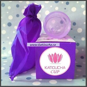 KATIOUCHA CUP No more sanitary pads & tampons! TOTAL FREEDOM!