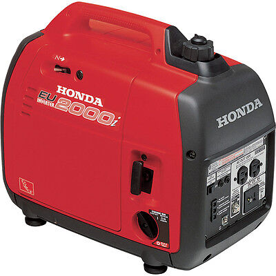 Honda EU2000i 2000 Watt Portable Quiet Inverter ...