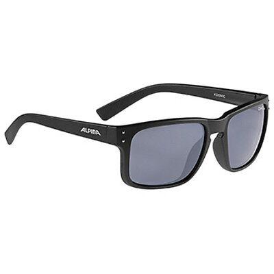 Alpina Fahrradbrille Lifestyle Brille KOSMIC black matt