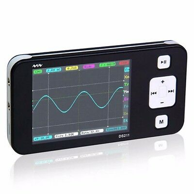 Dso211 Mini Ds211 Arm Nano Pocket Portable Digital Storage Oscilloscope Addc