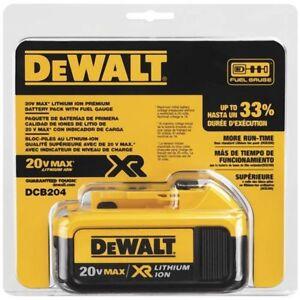 Brand new batterie DEWALT DCB204 4ah 20v