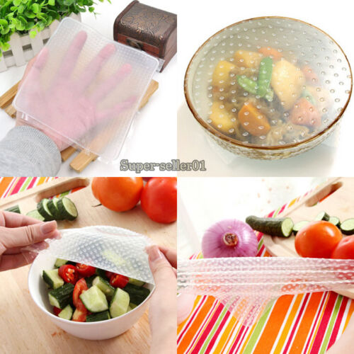 Kitchen Necessities Silicone Seal Cover Reusable Food ...