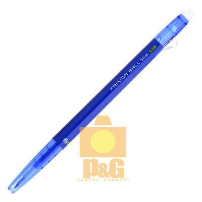 Pilot Frixion Colors Erasable Marker Ball Slim 0.38mm Gel Pen Blue Lfbs-18uf