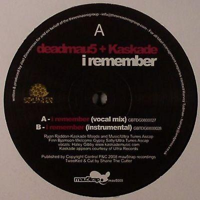 "DEADMAU5/KASKADE - I Remember - Vinyl (12"")"