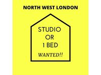 Looking for 1 bedroom Flat in North West London Area - Need DSS accepting Landlord