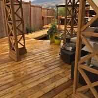 Decks, sheds, fences, Home Renovations of any sort