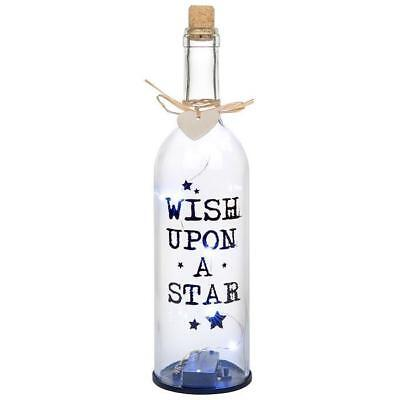 Firefly LED Light Bottle Gift - Wish Upon A Star 67351 - Wishing Fireflies
