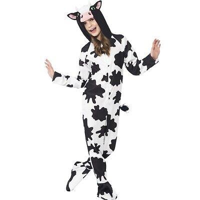 Kinder Kostüm Kuh Einteiler Kostüm Jungen Mädchen Anzug - Kuh Anzug Kostüme