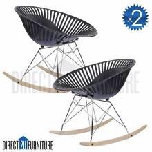X2 Chair - BERLIN Eames Eiffel Designer Rocking Chair Regents Park Auburn Area Preview