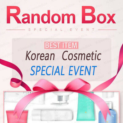 Best Korean cosmetic samples RANDOM BOX Special Event Moisturizing