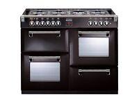 Stoves Richmond range cooker in black.