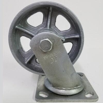 Heavy Duty 5 X 2 Steel Wheel With Swivel Caster