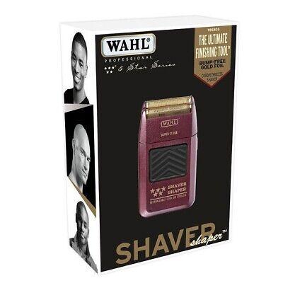 - WAHL 5-Star Shaver / Shaper Cord / Cordless Bump Free Shaver