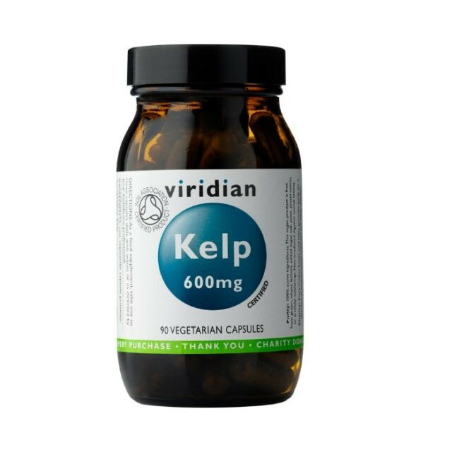 Viridian Organic Kelp <br>90 Veg Caps