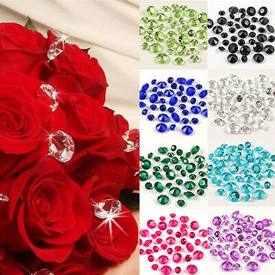 10mm WEDDING DECORATION Scatter Table Crystals DIAMONDS ...