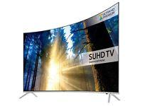 Samsung 4K curved suhd tv quantum dot 49